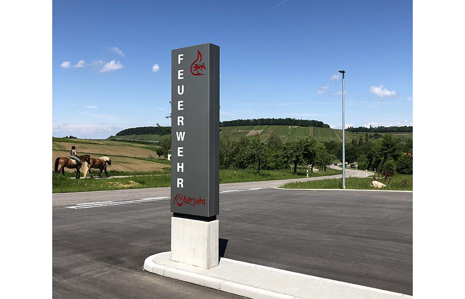 Feuerwehr Eschenau Pylon