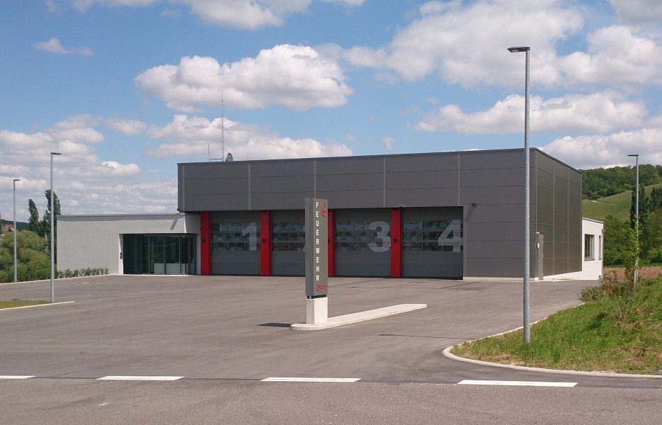 Neubau Feuerwehr Eschenau
