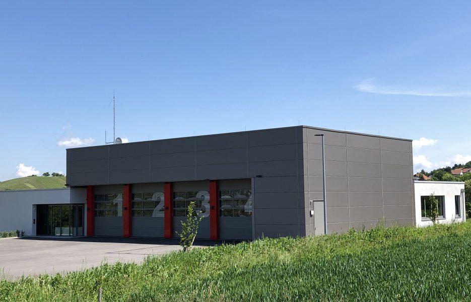 Feuerwehr Eschenau Südfassade