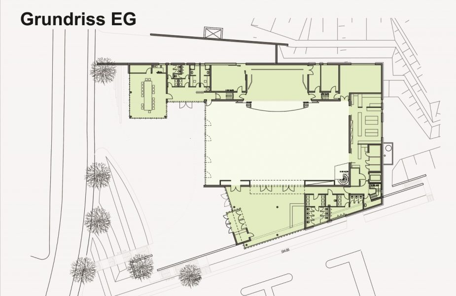 Flein Kulturhalle_Grundriss (Andere)