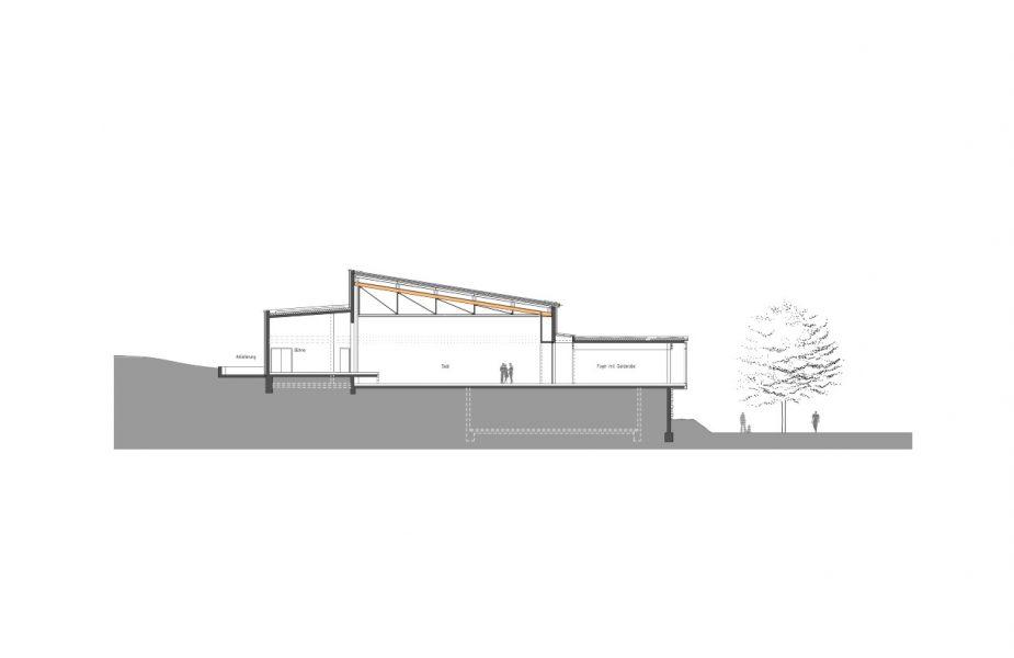 Flein Kulturhalle_Schnitt (Andere)