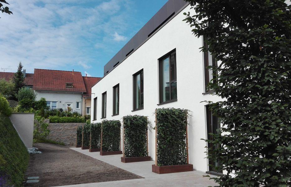 Hotel neues Tor Gartenseite
