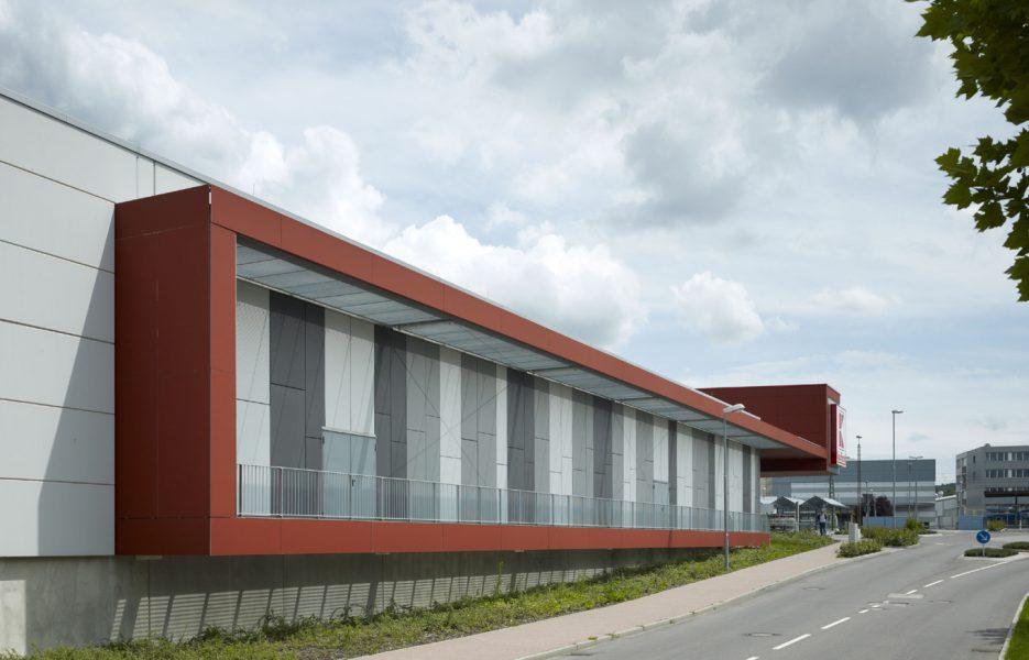 Kaufland Eppingen Fassade 3