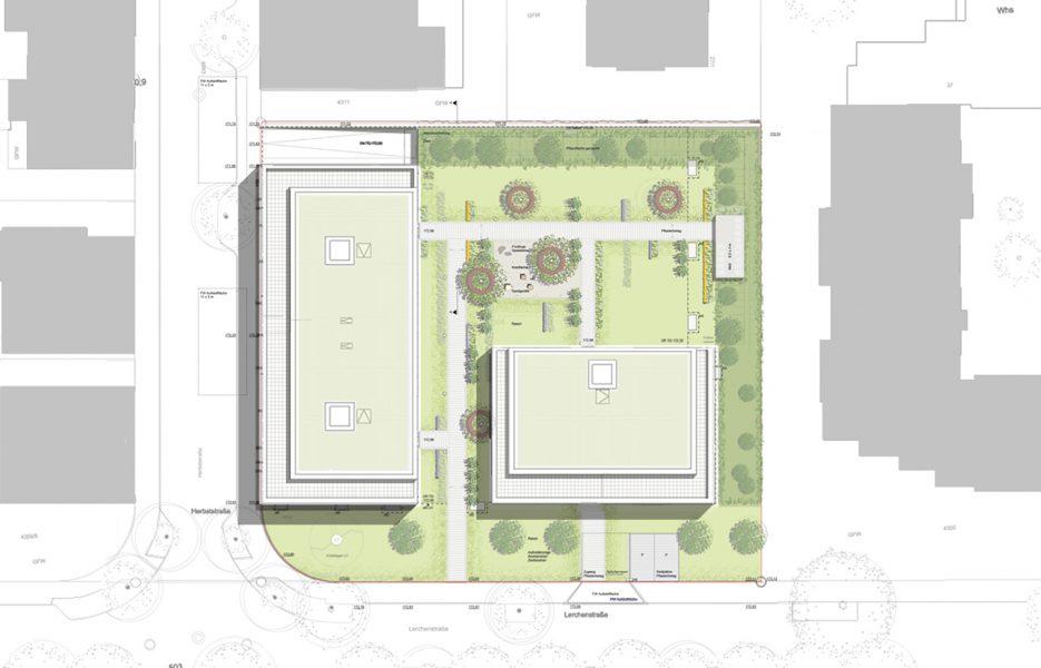 Lerchenhof Heilbronn Lageplan