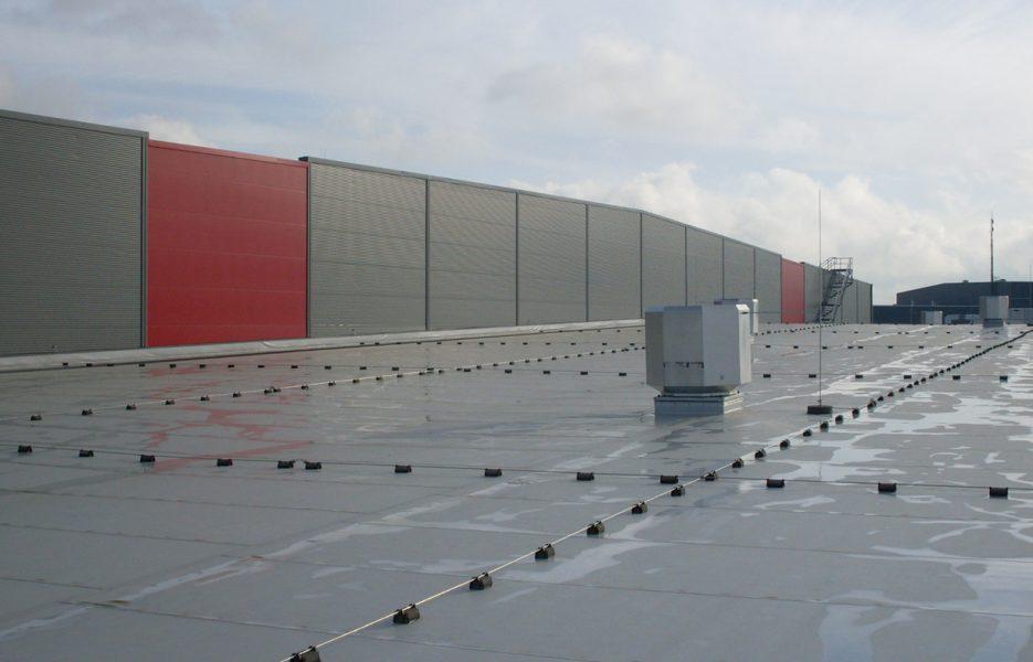 Logistigzentrum Möckmühl Dach