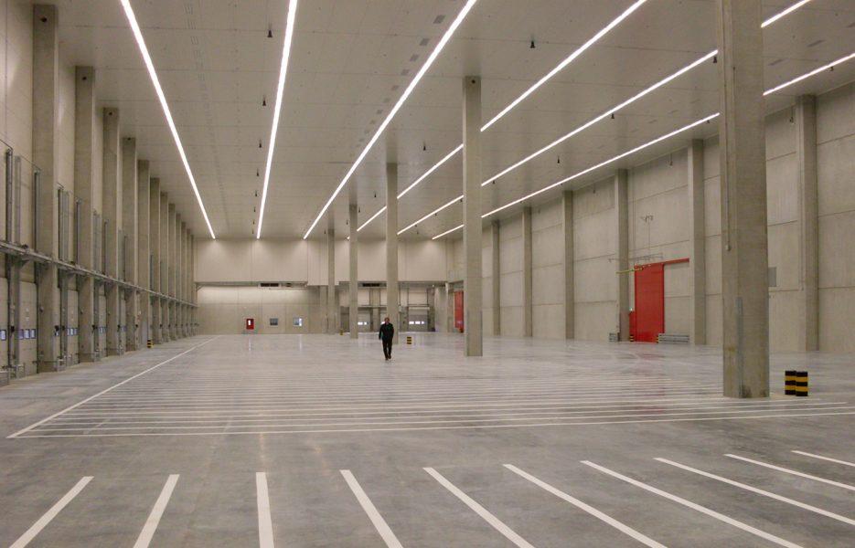 Logistigzentrum Möckmühl innen
