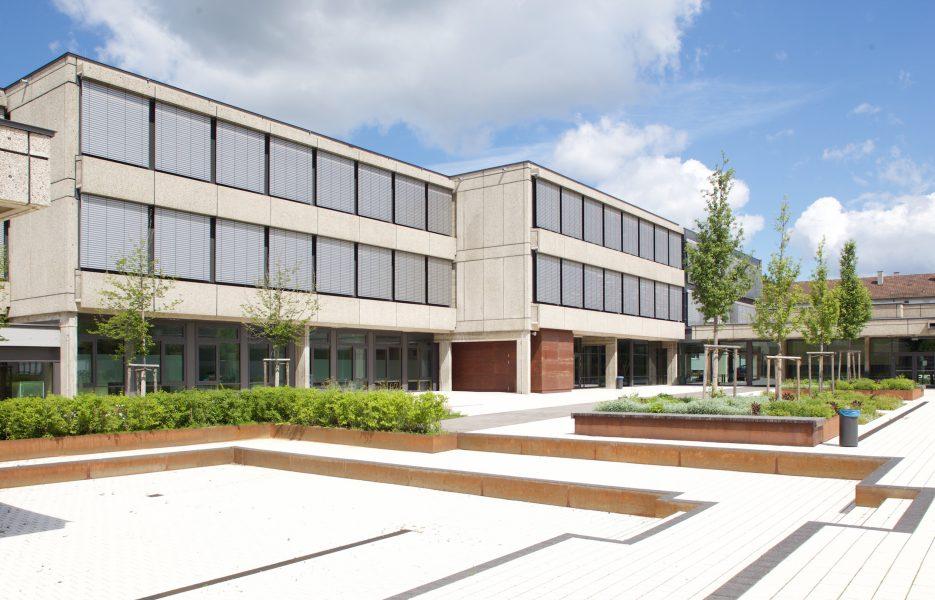 Otto Klenert Realschule Pausenhof