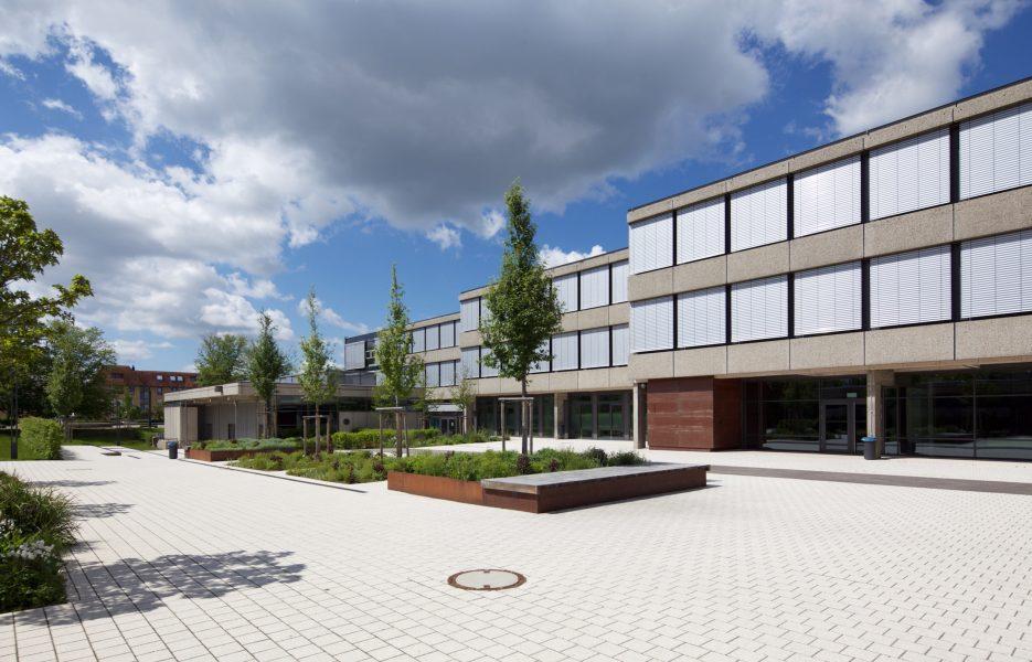 Otto Klenert Realschule Schulhof