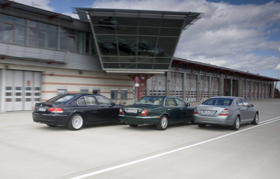 Mercedes S 320 CDI BMW 730 D Jaguar XJ6 D